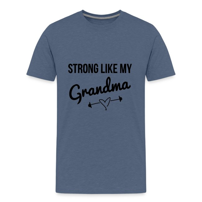 strong like my grandma (black)