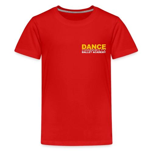 Dance Channel TV Logo - Kids' Premium T-Shirt