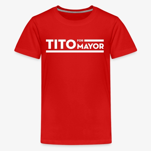 Tito Jackson For Mayor - Kids' Premium T-Shirt