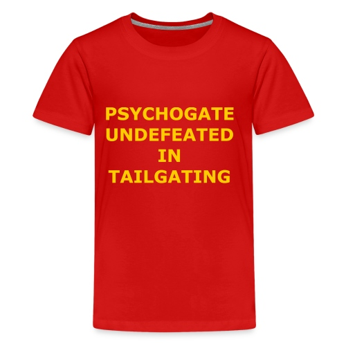 Undefeated In Tailgating - Kids' Premium T-Shirt