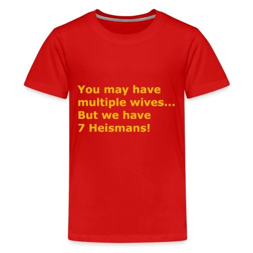Multiple Wives - Kids' Premium T-Shirt