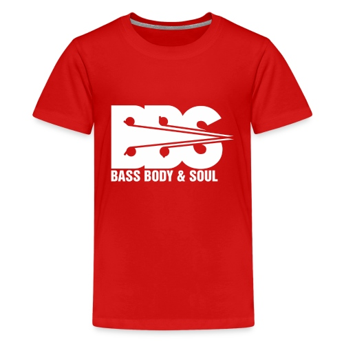 Bass Body and Soul logo - Kids' Premium T-Shirt