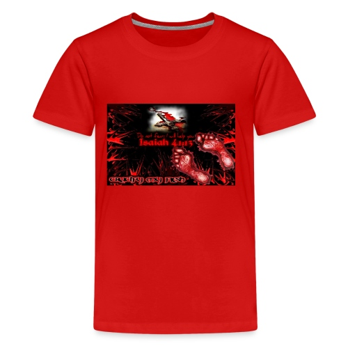 Isaiah 41:13 crucify my flesh - Kids' Premium T-Shirt