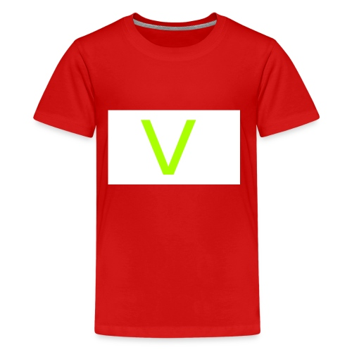 V letter for vast - Kids' Premium T-Shirt