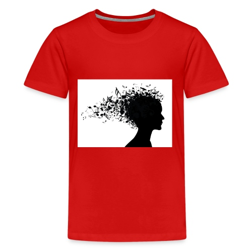music through my head - Kids' Premium T-Shirt