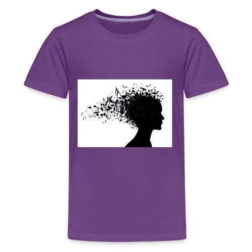 music through my head - Kids' Premium T-Shirt