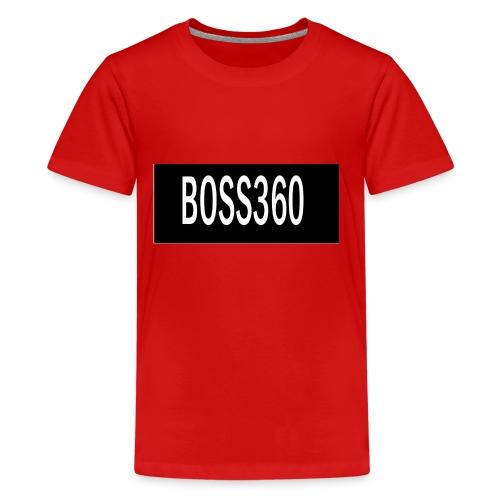 boss titre - Kids' Premium T-Shirt