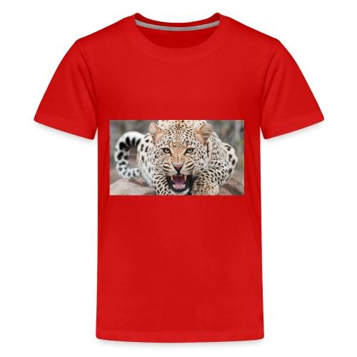 gandex ru 26 6055 evil leopard - Kids' Premium T-Shirt