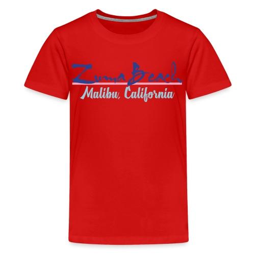 Zuma Beach - Malibu, California - Kids' Premium T-Shirt