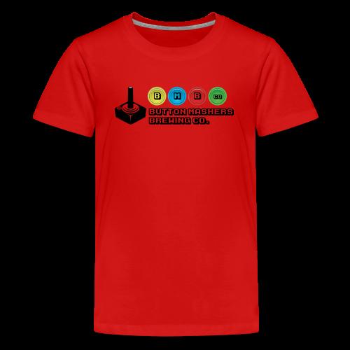 Button Mashers Brewing Co. - Kids' Premium T-Shirt