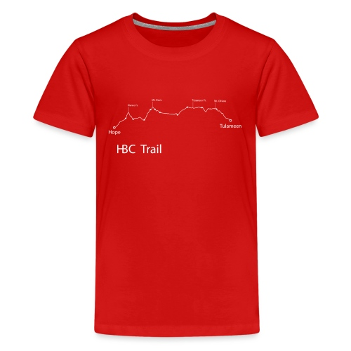 HBC Trail Elevation - Kids' Premium T-Shirt