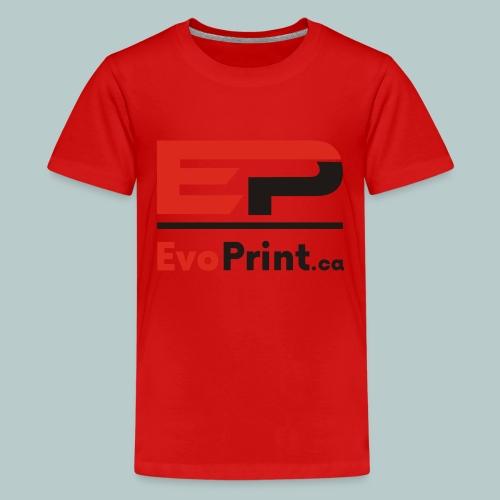Evo_Print-ca_PNG - Kids' Premium T-Shirt
