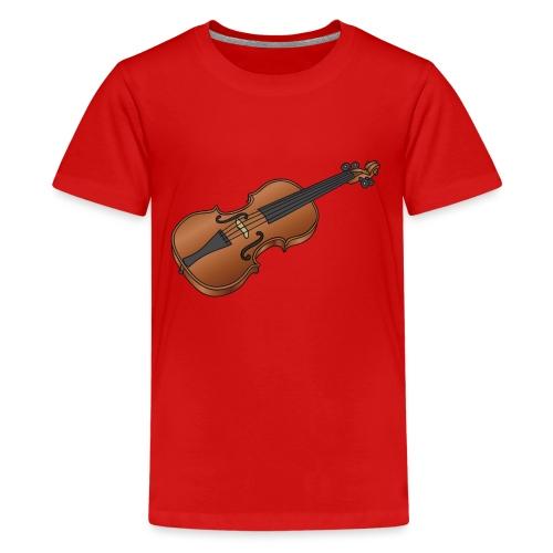 Violin, fiddle - Kids' Premium T-Shirt
