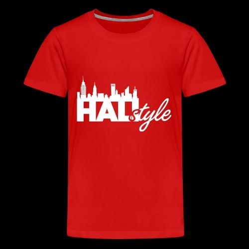 HALIStyle City Skyline - Kids' Premium T-Shirt