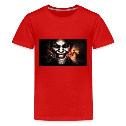 Jokers Evil Scheme - Kids' Premium T-Shirt