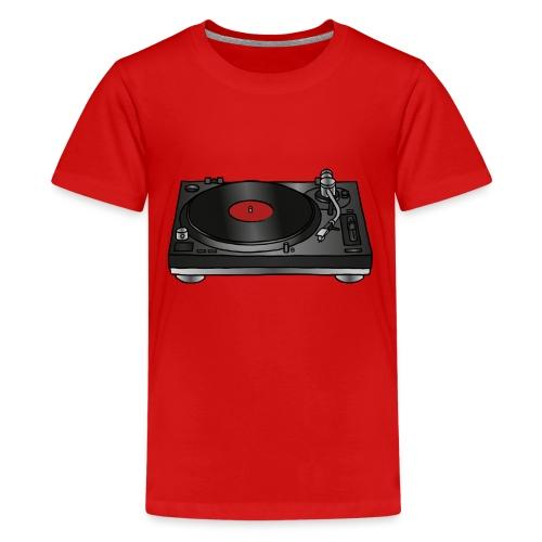 Record player, turntable - Kids' Premium T-Shirt
