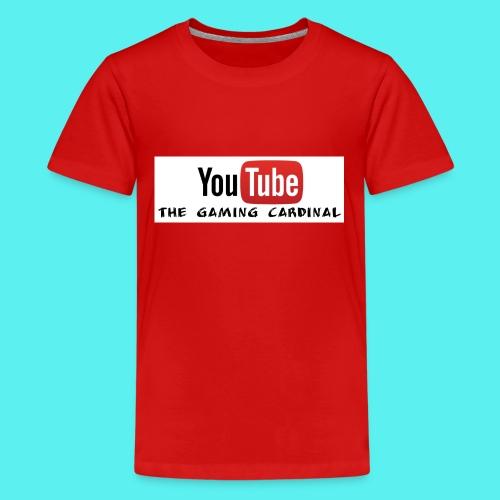 Youtube temp logo - Kids' Premium T-Shirt
