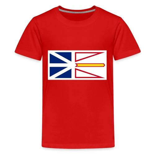 1200px Flag of Newfoundland and Labrador svg - Kids' Premium T-Shirt