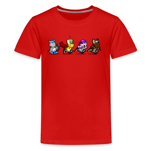 Running Bunnies - Kids' Premium T-Shirt