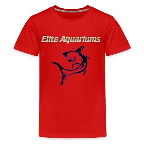Elite Aquariums Shark - Kids' Premium T-Shirt