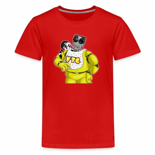 Mary and Chica by Dragonalfa - Kids' Premium T-Shirt