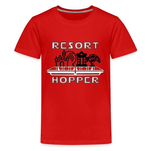Resort Hopper Logo - Kids' Premium T-Shirt