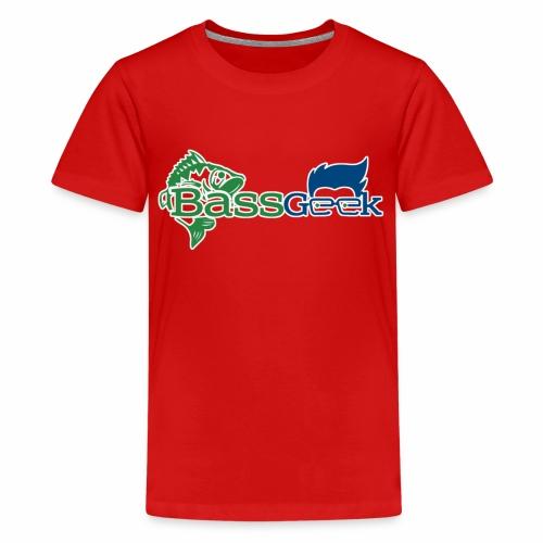 BassGeek Logo - Kids' Premium T-Shirt