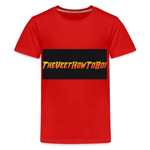 TheYeetHowToBoi Logo - Kids' Premium T-Shirt