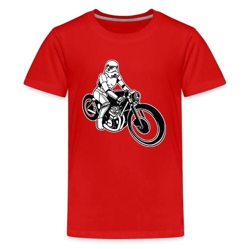Stormtrooper Motorcycle - Kids' Premium T-Shirt