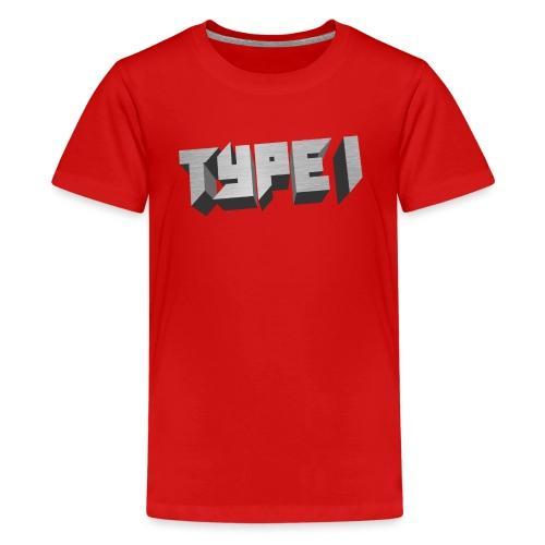 TYPE 1 - Kids' Premium T-Shirt