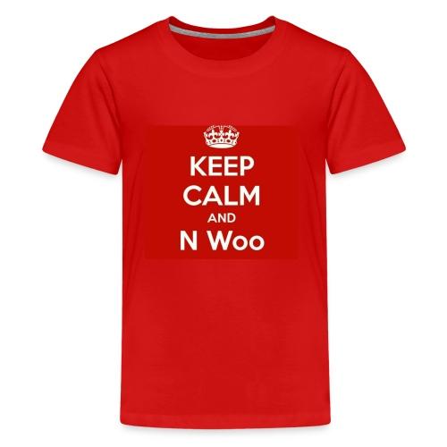 N woo - Kids' Premium T-Shirt