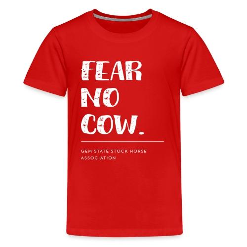 Fear no cow. - Kids' Premium T-Shirt