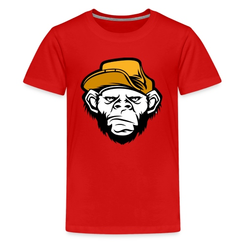bad monkey face - Kids' Premium T-Shirt