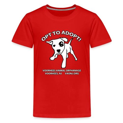 Opt to Adopt png - Kids' Premium T-Shirt
