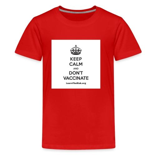LTR_T_KeepCalm_black-1 - Kids' Premium T-Shirt