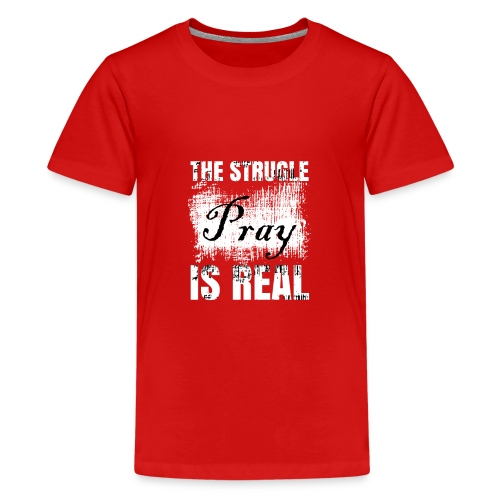 The struggle is real - Kids' Premium T-Shirt