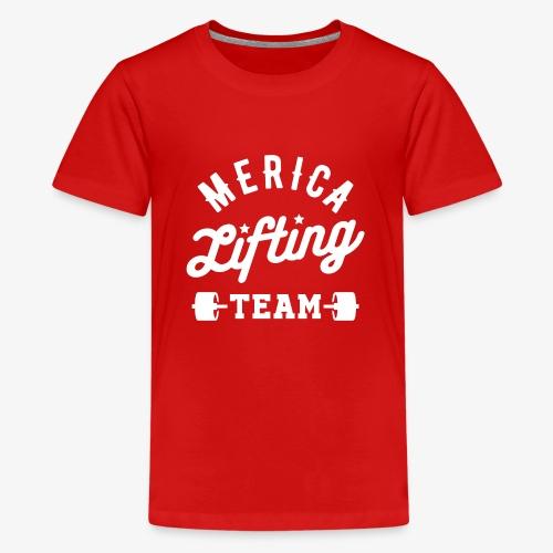 Merica Lifting Team - Kids' Premium T-Shirt