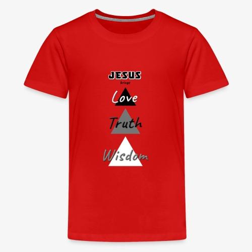 Love Truth Wisdom - Kids' Premium T-Shirt