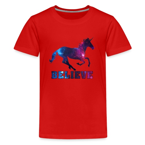 Believe Unicorn Universe 7 - Kids' Premium T-Shirt