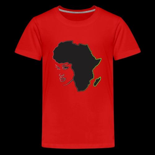 Afrika is Woman - Kids' Premium T-Shirt