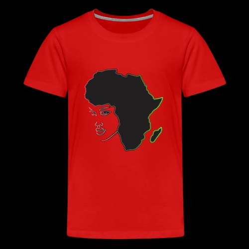 Afrika is Woman - Kids' Premium T-Shirt
