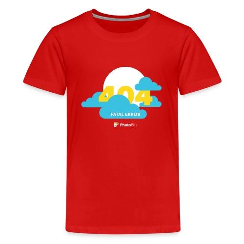 404 Fatal Error Moon Not Found - Kids' Premium T-Shirt