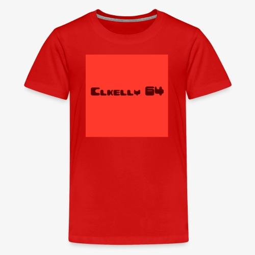 clkelly64 box logo - Kids' Premium T-Shirt