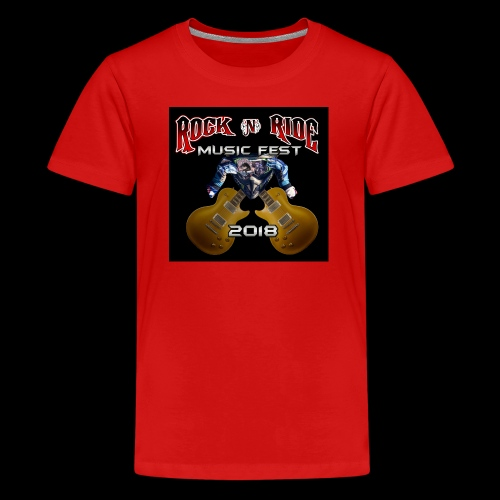 RocknRide Design - Kids' Premium T-Shirt