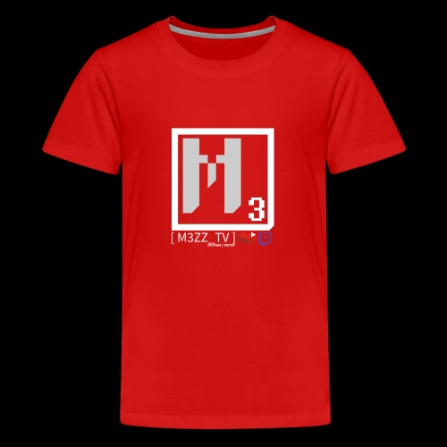 M3ZZ TV SOCIAL NETWORKS LIGHT - Kids' Premium T-Shirt