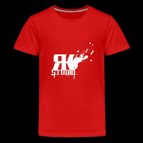 RKStudio White Logo Version - Kids' Premium T-Shirt