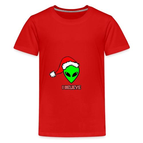 Santa Alien - T-shirt premium pour ados