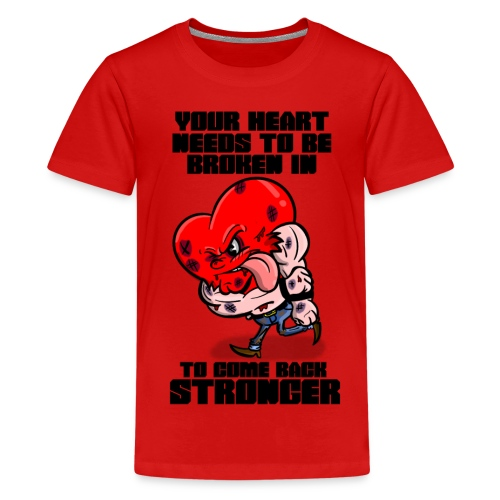 Fighting Heart - Kids' Premium T-Shirt