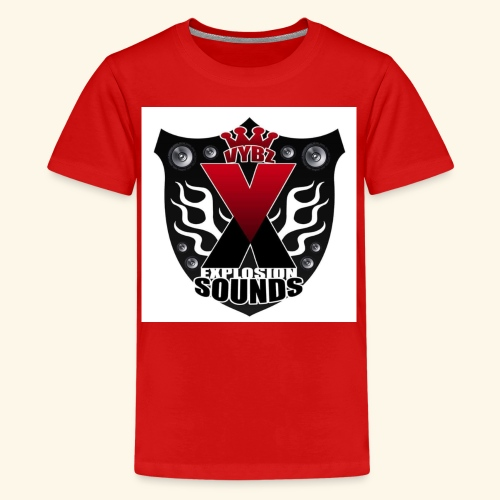 Vybz X Explosion Sounds Logo - Kids' Premium T-Shirt
