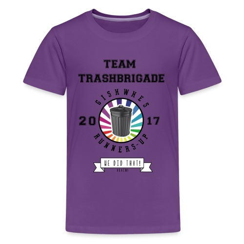 TrashBrigade 2017 - Kids' Premium T-Shirt